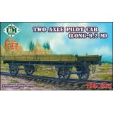 Two axle pilot car (long 9.2 meter) (UMT615) Масштаб:  1:72