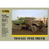 ТЗ-8-255 Армейский топливозаправщик (SMK87107) Масштаб:  1:87