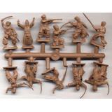 Украинские пешие казаки и артиллерия, 1648 (ORI72013) Масштаб:  1:72