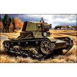UMT314 T-26 WWII Soviet tank with turret A-43 (UMT314) Масштаб:  1:72