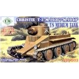 UMT403 Christie T-3 tank (UMT403) Масштаб:  1:72
