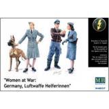 Женщины-помощники на войне: Люфтваффе (MB3557) Масштаб:  1:35
