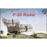 ZZ72001 P-35 Soviet radar, resin/pe (ZZ72001) Масштаб:  1:72