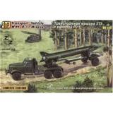 ZZ87018 2TZ Soviet transport vehicle with R-11 missile (ZZ87018) Масштаб:  1:87