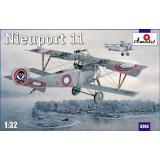 Биплан Nieuport 11 (AMO3203) Масштаб:  1:32