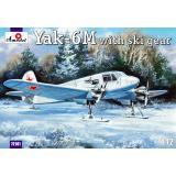 Бомбардировщик Як-6M с лыжным шасси (AMO72181) Масштаб:  1:72