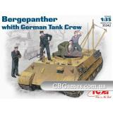 ICM35342  Bergepanther, early with tank crew