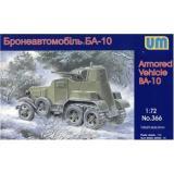 Бронеавтомобиль БА-10 (UM366) Масштаб:  1:72