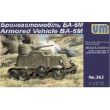 Бронеавтомобиль БА-6М (UM362) Масштаб:  1:72