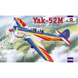 Двухместный самолет первоначальной летной подготовки Як-52М Д (AMO72144) Масштаб:  1:72