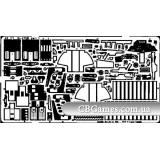 Фототравление 1/48 Су-27УБ (рекомендовано для Academy) (EDU-48171) Масштаб:  1:48