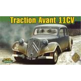 Французский легковой автомобильTraction Avant 11CV (ACE72273) Масштаб:  1:72