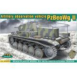 Германский командирский танк PzBeoWg II (ACE72270) Масштаб:  1:72