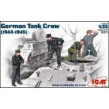 ICM35211  German tank crew, 1943-1945 (Фігури)