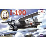 Истребитель И-190 (AMO72112) Масштаб:  1:72