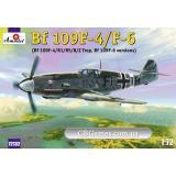 Истребитель Мессершмитт Bf-109F4/F6 (AMO72132) Масштаб:  1:72
