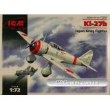ICM72202  Ki-27b Japan army fighter
