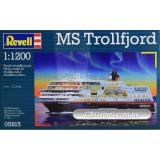 RV05815  MS Trollfjord (Hurtigruten);1:1200