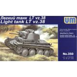 Легкий танк LT vz.38 (UM350) Масштаб:  1:72
