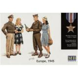 MB3514 Europe, 1945 (MB3514) Масштаб:  1:35