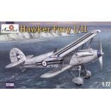 Морской истребитель-биплан Hawker Fury I/II ВВС Великобритании (AMO72138) Масштаб:  1:72