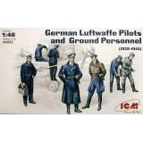 ICM48082  WWII German Pilots and Ground personnel