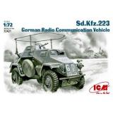 ICM72421  Sd.Kfz.223 WWII German radio car