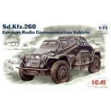 ICM72431 Sd.Kfz.260 WWII German radio car