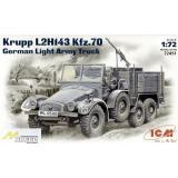 ICM72451  Krupp L2H143 Kfz.70 WWII German truck