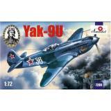 Одномоторный истребитель Як-9У (улучшенный) (AMO7289) Масштаб:  1:72