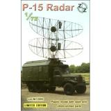 P-15 Soviet radar vehicle, plastic/resin/pe (ZZ72006) Масштаб:  1:72