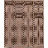 PE7232 Photoetched tracks set for 1/72 T-34 mod.1941 (PE7232) Масштаб:  1:72