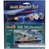 RV65817  Model Set Круизный лайнер MS Midnatsol;1:1200