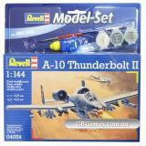 Подарочный набор с самолетом A-10 Thunderbolt II (RV64054) Масштаб:  1:144