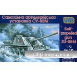 Самоходная артиллерийская установка СУ-85М (UM335) Масштаб:  1:72