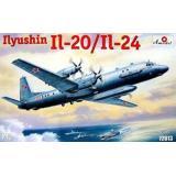 Самолет Ильюшин Ил-20 / Ил-24 (AMO72013) Масштаб:  1:72