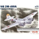 ICM72162  SB 2M-100A Soviet bomber (Літак)