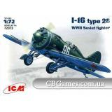 ICM72073   Polilkarpov I-16 type 28 WWII fighter