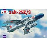 Советский истребитель Яковлев Як-25К/С (AMO72165) Масштаб:  1:72
