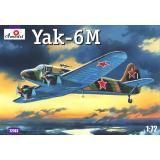Советский легкий самолет Як-6M (AMO72182) Масштаб:  1:72