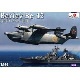 Советский спасательный самолет-амфибия Beriev Be-12 'Mail' (AMO1438) Масштаб:  1:144