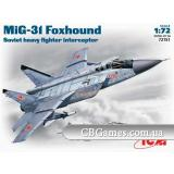 ICM72151  MiG-31 Foxhound Soviet heavy interceptor