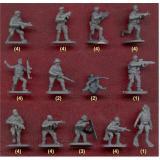 Современные спец войска разных стран (боевые пловцы, котики, подразделение Дельта) (CMH061) Масштаб:  1:72