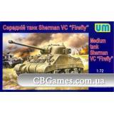 Танк Sherman VC Firefly (UM386) Масштаб:  1:72