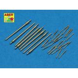 Точеный ствол для Akizuki (ABR350-L49) Масштаб:  1:350