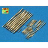 Точенные стволы для Бисмарка (ABR700-L31) Масштаб:  1:700
