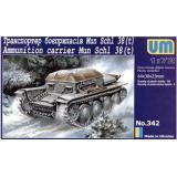 Транспортер боеприпасов Mun Schl 38 (t) (UM342) Масштаб:  1:72