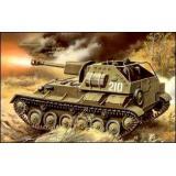 UM308 SU-76M Soviet WW2 self-propelled gun (UM308) Масштаб:  1:72