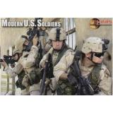 US Modern soldiers (MS72003) Масштаб:  1:72