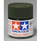 Акриловая краска 10мл Mini XF-58 оливково-зеленый (матовая) (TAM81758)